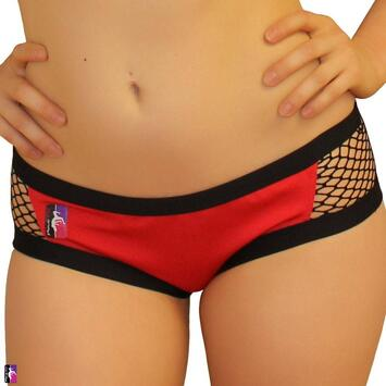 Fishnet Side Shorts PoleFit