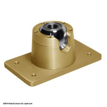 X-Pole XPert Schrägdeckenhalterung Gold