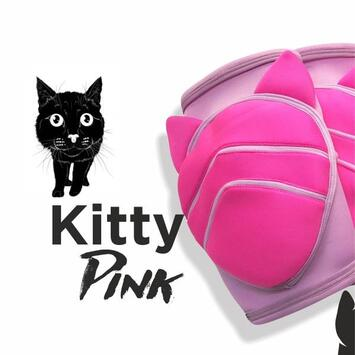 Queen Wear Knieschützer Kitty Pink