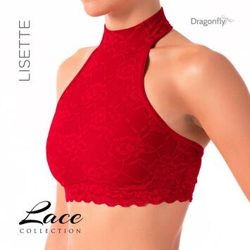 Lisette Top Dragonfly Lace Rot