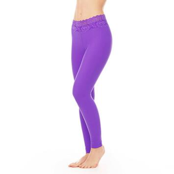 Adriana Leggings Dragonfly Lace Violett XS