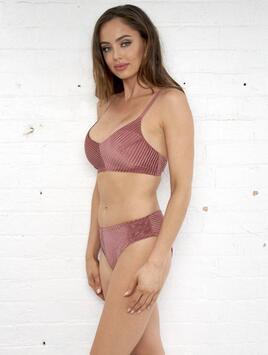 Lana Low Waist Shorts Dusty Rose Luna