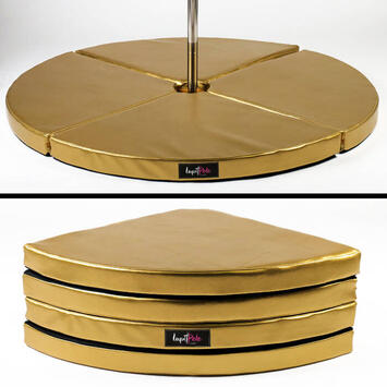 Pole Dance Matte Lupit Pole PREMIUM Gold