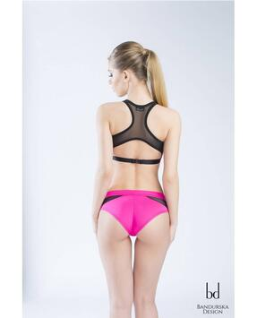 Pink Lake Shorts Bandurska