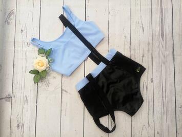 Vogue Shorts Hellblau i-Style