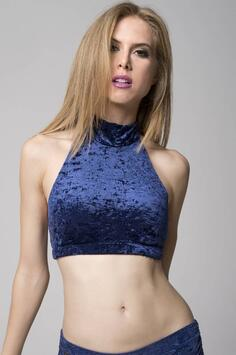Eve Top Navy Blue RAD