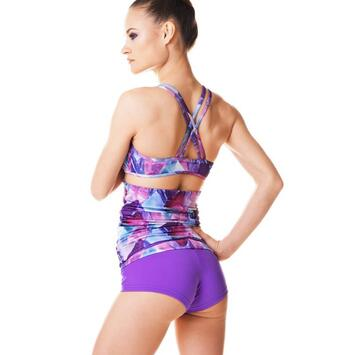 Xenia Aquarelle Violet Limited Top Dragonfly
