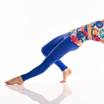 Adriana Aquarelle Blue Limited Leggings Dragonfly