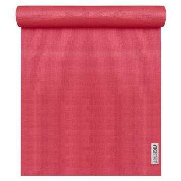 Yogamatte Basic Rot (183 cm x 61 cm x 4 mm)