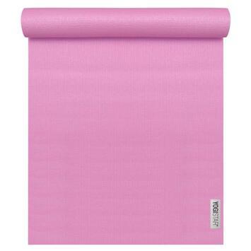 Yogamatte Basic Rosa (183 cm x 61 cm x 4 mm)
