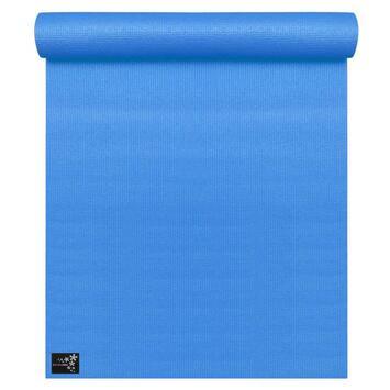 Yogamatte Basic Blau (183 cm x 61 cm x 4 mm)