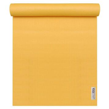 Yogamatte Basic Gelb (183 cm x 61 cm x 4 mm)