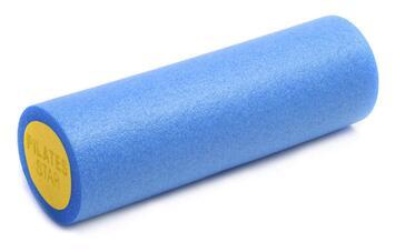 Faszien- und Pilatesrolle 45 cm Blau