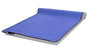Yogatuch Anti-Rutsch Blau