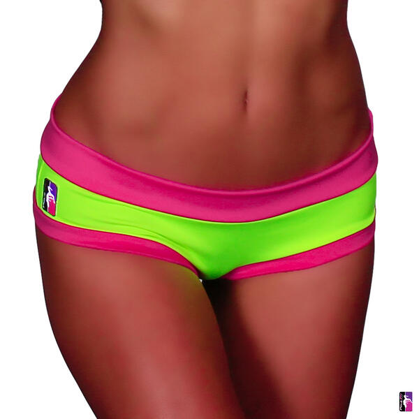 Color Block Brazil Shorts PoleFit